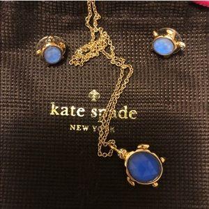 Kate spade turtle earrings. Reserved